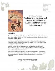 Legend of Lightning award PR
